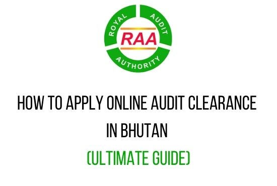 online audit clearance in Bhutan